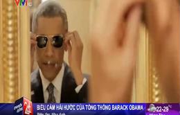 """Tổng thống Obama """"gây bão"""" bằng video hài hước"""