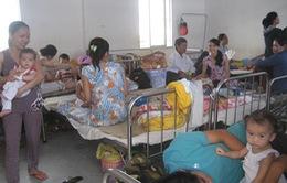 Nhiều trẻ mắc bệnh tay chân miệng tại ĐBSCL