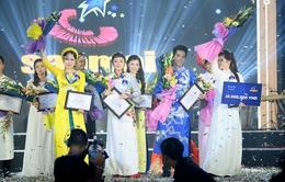 Cạnh tranh khốc liệt trong đêm Chung kết Sao mai 2015 dòng nhạc dân gian