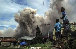 Indonesia: Núi lửa hoạt động,hàng nghìn người sơ tán