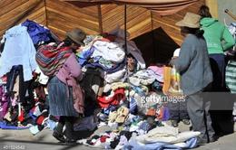 Ngành dệt may Bolivia lao đao vì quần áo cũ nhập khẩu