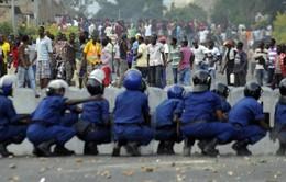 Bạo loạn xảy ra tại Burundi ngay trước thềm cuộc bầu cử