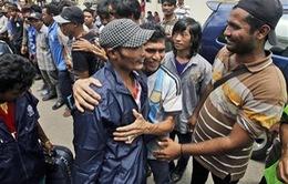 Giải cứu 2.000 ngư dân bị bắt làm nô lệ ở Indonesia