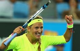 Vòng 2 Úc mở rộng 2015: Azarenka xuất sắc vượt ải Wozniacki