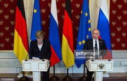 Thủ tướng Đức đến Nga sau lễ kỷ niệm 70 năm Chiến thắng phát xít