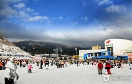 Thiên đường cho người đam mê trượt tuyết ở Hàn Quốc