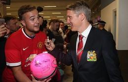 Man Utd hứng khởi với buổi tập đầu tiên trên đất Mỹ