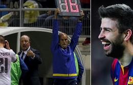 """C.Ronaldo coi Pique như """"đồ bỏ"""" vì bị chọc ngoáy"""
