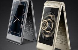 """Samsung chính thức ra mắt điện thoại nắp gập cấu hình """"khủng"""""""