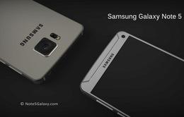 Samsung Galaxy Note 5 sẽ mang thiết kế kim loại nguyên khối?