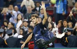 Roger Federer thua sốc tay vợt xếp hạng 70 thế giới