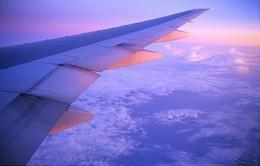 Những cảnh quan tuyệt đẹp nhìn từ cửa sổ máy bay