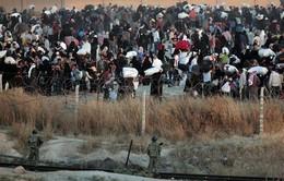 Hàng nghìn người dân Syria tháo chạy khỏi IS