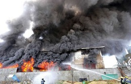 Philippines: Hỏa hoạn tại một nhà máy, 72 người thiệt mạng