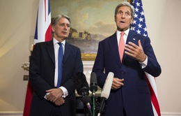 Ngoại trưởng Anh, Mỹ thảo luận về tình hình Syria