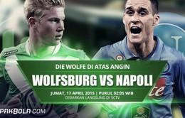Lượt đi tứ kết Europa League: Đại chiến tại Volkswagen Arena