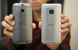 Phân biệt HTC One M8 và HTC One M9