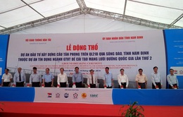 Nam Định: Động thổ xây cầu Tân Phong qua sông Đào
