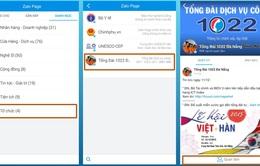 Người dân Đà Nẵng tra cứu dịch vụ công trên… mạng xã hội