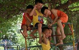 Đột nhập lớp học diễn xuất của các em bé làng trẻ SOS