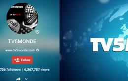 Kênh truyền hình TV5 Monde bị tin tặc IS tấn công
