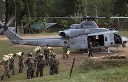 Trực thăng cứu trợ của Mỹ mất tích tại Nepal