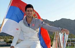 Novak Djokovic tiếp tục thống trị làng banh nỉ thế giới