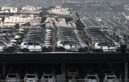 Khung cảnh hoang tàn sau vụ nổ kho hóa chất tại Thiên Tân