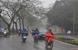 Các tỉnh, thành phố cả nước đều có mưa, Bắc Bộ sương mù vào sáng sớm