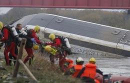 Tàu cao tốc Pháp trật đường ray: 5 người thiệt mạng, 7 người bị thương