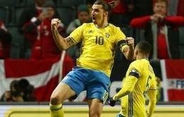 Lượt đi play-off Euro 2016: Thụy Điển đánh bại Đan Mạch trong cuộc đối đầu Bắc Âu