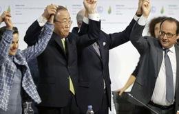 Tổng thư ký LHQ: Thỏa thuận ở COP21 là thành công vĩ đại với Trái đất