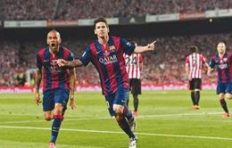 Siêu phẩm của Messi và Florenzi lọt top 10 bàn thắng đẹp nhất năm