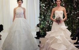 4 xu hướng váy cưới nổi bật Xuân Hè 2016