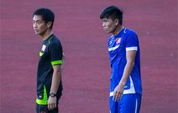 Mạnh Hùng nhiều khả năng vắng mặt ở trận gặp U23 Malaysia
