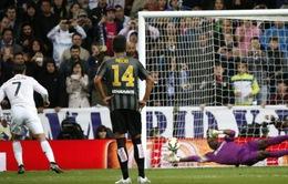 Mùa này, Ronaldo sút hỏng penalty nhiều nhất