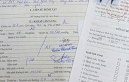Giấy khám sức khỏe khống bán tràn lan cho học viên lái xe ô tô