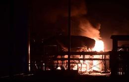 Lại nổ nhà máy hóa chất ở Trung Quốc