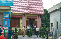 Thẩm vấn nghi can vụ án mạng ở Thạch Thất, Hà Nội