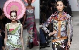 Bộ sưu tập sắc màu nổi bật tại tuần lễ thời trang Paris