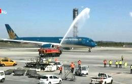 Lễ khai trương máy bay A350 của Vietnam Airlines tại Paris