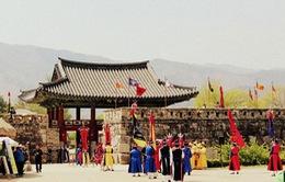 Đột nhập trường quay phim cổ trang Hàn Quốc