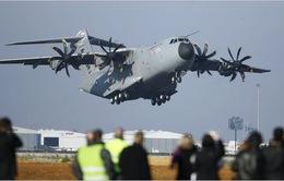 Airbus tiếp tục thử nghiệm máy bay A400M sau vụ tai nạn