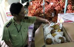 TP.HCM: Tiêu hủy 27 tấn nước ép, trái câykhông rõ nguồn gốc