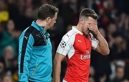 Ramsey nghỉ gần 1 tháng, cơ hội cho Oxlade-Chamberlain