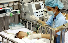 Nhiều trẻ mắc ho gà nhập viện trong tình trạng nguy kịch