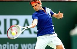 Federer khởi động ấn tượng tại Indian Wells 2015