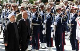 Tổng thống Afghanistan thăm Iran