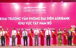 Agribank khai trương Văn phòng đại diện khu vực Tây Nam bộ