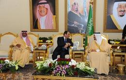 Tổng thống Ai Cập hội kiến Quốc vương Saudi Arabia